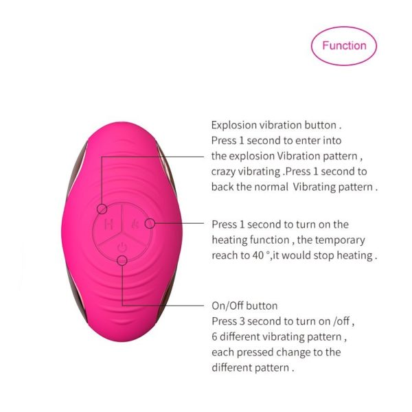 HEARTLEY Annie Double Mini Vibrator Egg for Women