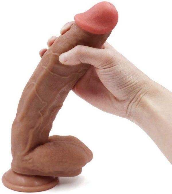 12 inch Liquid Realistic Huge Dong Dildo